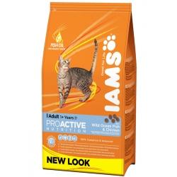 Iams Adult with Ocean Fish 10 кг / Ямс Эдалт для взрослых кошек с океанической рыбой 10 кг