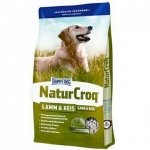 Happy Dog Natur Сroq 15 кг / Хэппи Дог Натур Крок для взрослых собак и ягненок и рис 15 кг