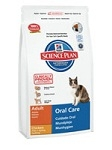 Hills Feline Adult Oral Care 1,5кг / Хиллс профилактика зубного камня для кошек 1,5кг
