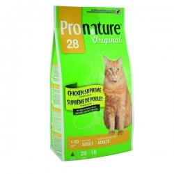 Pronature Original 28 20кг / Пронатюр 28 для взрослых кошек 20 кг