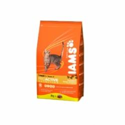 Iams Adult with Chicken 10 кг / Ямс Эдалт для взрослых кошек с курицей 10 кг
