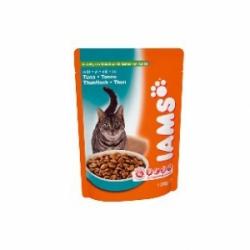 Iams Adult Tuna 22 шт х 100 гр / Ямс для взрослых кошек с тунцом (22 шт х 100 гр)