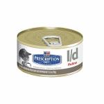 Hills Prescription Diet Feline l/d 24 шт х 156 г / Хиллс для кошек с заболеваниями печени (24 шт х 156 г)