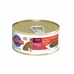 Hills Feline Adult Liver with Chicken 24 шт х 85 гр / Хиллс для взрослых кошек с курицей и печенью(24 шт х 85 гр)