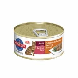 Hills Feline Adult with Turkey 24 шт х 85 гр / Хиллс для взрослых кошек с индюшкой (24 шт х 85 гр)