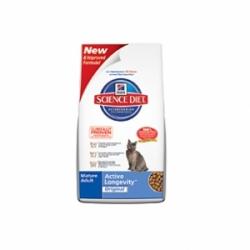 Hills Feline Mature Adult 7+ Active Longevity Chicken 10кг / Хиллс энергичность и долголетие для пожилых кошек 10кг