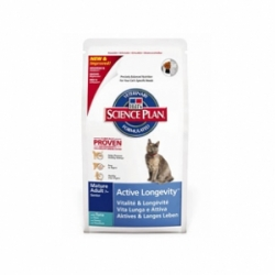 Hills Feline Mature Adult 7+ Active Longevity Tuna 2кг / Хиллс энергичность и долголетие для пожилых кошек 2 кг