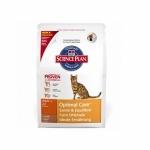 Hills Feline Adult Optimal Care with Lamb 2кг / Хиллс для кошек оптимальный уход с ягненком 2 кг