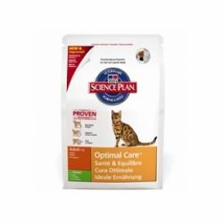 Hills Feline Adult Optimal Care with Rabbit 10кг / Хиллс для кошек оптимальный уход с кроликом 10кг