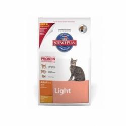 Hills Feline Adult Light Chicken 1,5кг / Хиллс облегченный корм с курицей для взрослых кошек 1,5 кг