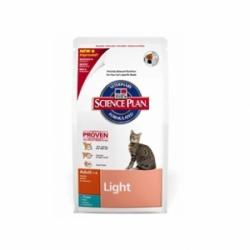 Hills Feline Adult Light with Tuna 5кг / Хиллс облегченный корм с тунцом для взрослых кошек 5 кг