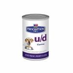 Hills Canine u/d 12 шт х 370 г /  Хиллc для собак с заболеваниями почек и МКБ (12 шт х 370 г)