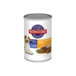 Hills Canine Mature Adult 7+ 12 шт х 370 г / Хиллc для пожилых собак с курицей (12 шт х 370 г)