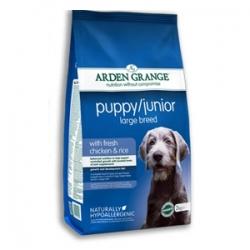 Arden Grange Puppy Junior Large Breed 15кг / Арден Грендж Паппи и Юниор для щенков и молодых собак крупных пород 15 кг