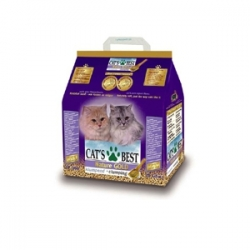 Cat's Best Nature Gold 6кг / Древесный комкоющий наполнитель Кэтс Бест Натур Голд 6кг