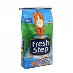 Fresh Step 6.35 кг / Фреш Степ тройная защита впитывающий наполнитель для кошачьего туалета 6.35 кг