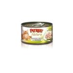 Petreet Natura with Chicken & Asparagus 70 гр х 24 шт / Петрит для взрослых кошек с куриной грудкой и спаржей 70 гр х 24 шт