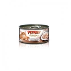 Petreet Natura with Chicken & Liver 70 гр х 24 шт / Петрит для взрослых кошек с куриной грудкой и печени 70 гр х 24 шт