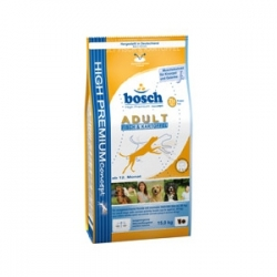 Bosch Adult Fish & Potato 15кг / Бош Эдалт для взрослых собак с рыбой и картофелем 15 кг