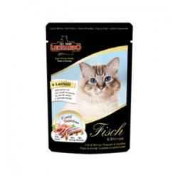 Leonardo Fish & Shrimp (16 шт х 85 гр) / Леонардо для кошек рыба с креветками (16 шт х 85 гр)