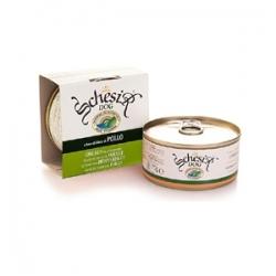 Schesir Chicken 150 гр х 10 шт / Шезир для собак с курицей 150 гр х 10 шт