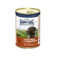 Happy Dog Veal & Turkey 400 гр х 20 шт / Хэппи Дог для собак с телятиной и индейкой 400 гр х 20 шт