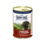 Happy Dog veal & heart 400 гр х 20 шт / Хэппи Дог для собак с телятиной и сердцем 400 гр х 20 шт