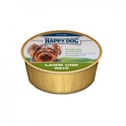 Happy Dog Lamb & Rice125 гр х 16 шт / Хэппи Дог для собак с ягненком и рисом 125 гр х 16 шт