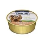 Happy Dog Veal & Rice 125 гр х 16 шт / Хэппи Дог для собак с телятиной и рисом 125 гр х 16 шт