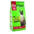 Pronature Original 28 meat fiesta 20кг / Пронатюр 28 для взрослых кошек с мясом 20 кг