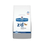 Hills Canine Z/D Allergen Free 10кг / Хиллc диета Z/D лечение и диагностика пищевых аллергий 10кг