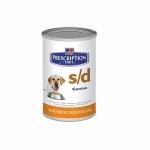 Hills Canine s/d  12 шт х 370 г / Хиллc при заболеваниях мочевыводящих путей (12 шт х 370 г)