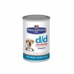 Hills Canine d/d 12 шт х 370 г / Хиллc при пищевой аллергии с лососем (12 шт х 370 г)