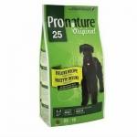 Pronature Original 25 Adult All Breed 15кг / Пронатюр 25 для взрослых собак всех пород без сои, кукурузы и пшеницы 15 кг
