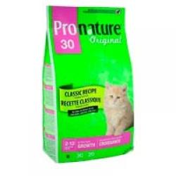 Pronature Original 30 Kitten 20кг / Пронатюр 30 для котят 20 кг