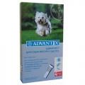 Advantix 100  / Капли Адвантикс 100 для собак от 4 до 10 кг 4шт х 1 мл