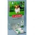 Advantix 40  / Капли Адвантикс 40 для собак до 4 кг 4шт х 0,4 мл