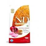 Natural & Delicious Low Grain Chicken & Pomegranate Adult Cat 10кг / Сухой корм для кошек с низким содержанием зерна Курица с Гранатом 10 кг